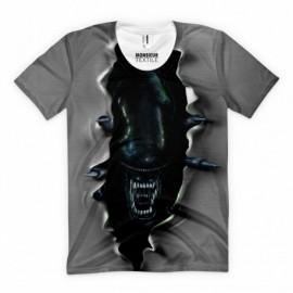 T-Shirt Alien Inside
