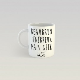 Mug Beau brun