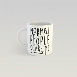 Mug scare me