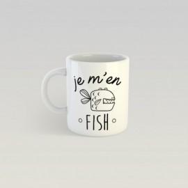 Mug je m'en fish