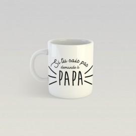 Mug demande à papa