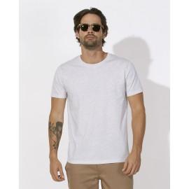 T-Shirt Blanc chiné
