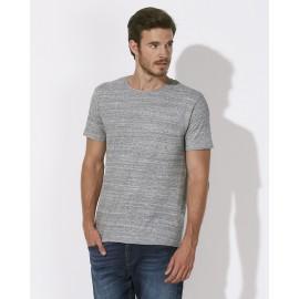 T-Shirt Gris slub